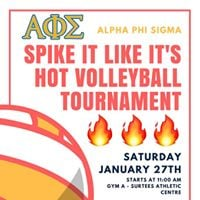 Spike It Like Its Hot Volleyball Tournament