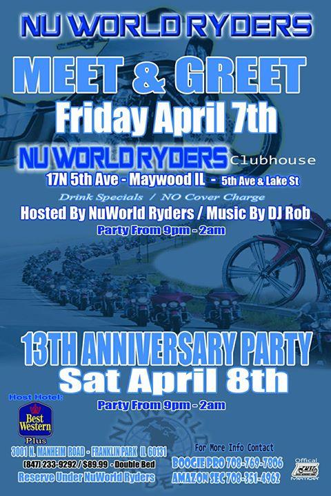 Nu World Ryders M&G | Maywood