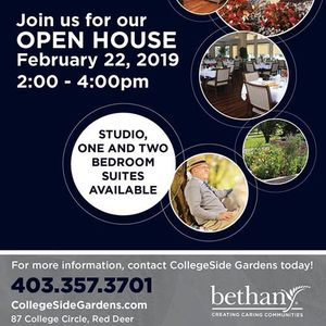 Open House At CollegeSide Gardens