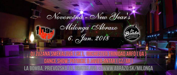 Novoročná - New Year s Milonga Abrazo - La Bomba Bratislava at La ... edabf3e8304