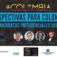 Foro Acadmico Candidatos Presidenciales Colombia 2018
