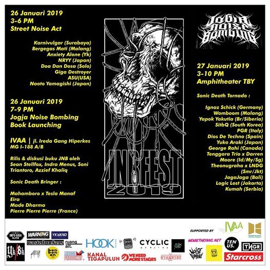 Jogja Noise Bombing Festival 2019