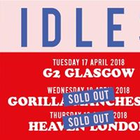 SOLD OUT - IDLES at Heaven London