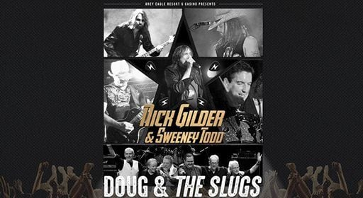 Nick Gilder and Sweeney Todd with Doug and The Slugs