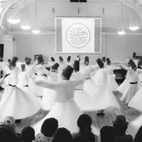 Shebi Arus Whirling Dervish Ceremony