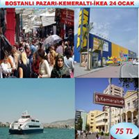 Bostanli-Ikea-Kemeralti Aliveri Turu 24 Ocak