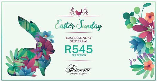 Easter Sunday Spit Braai