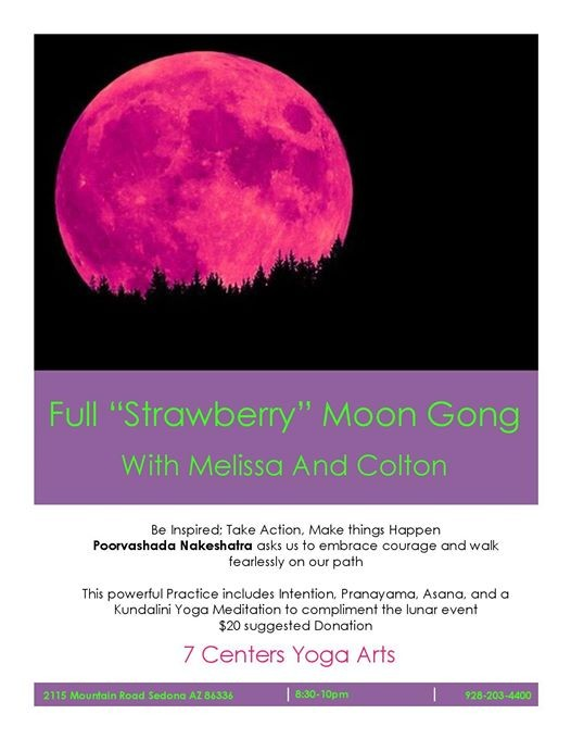 Full Strawberry Moon Gong
