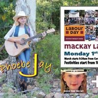 Mackay Labour Day with Phoebe Jay