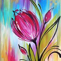 Whimsical Tulip