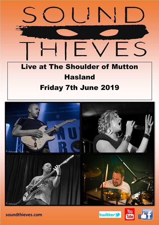 Sound Thieves - Live at The Shoulder of Mutton Hasland