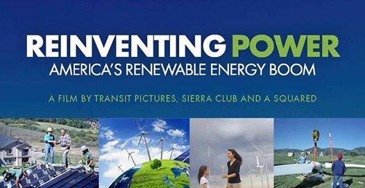 Reinventing Power, Americas Renewable Energy Boom at The Environmental  Center, Oregon