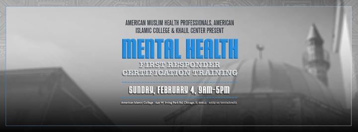 Muslim Mental Health First Response Certification Training at ...