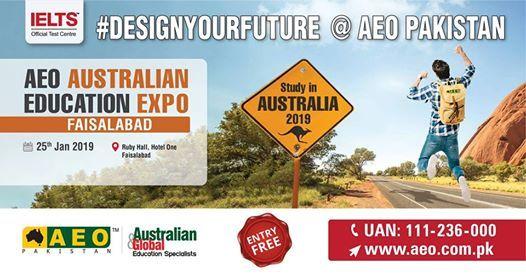 AEO Australian Education Expo Jan 2019 - Faisalabad