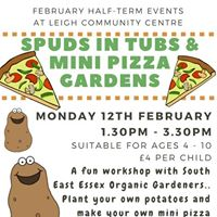 Spuds in Tubs and Mini Pizza Gardens Workshop