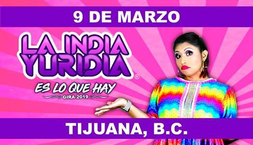 La India Yuridia  Tijuana B.C.