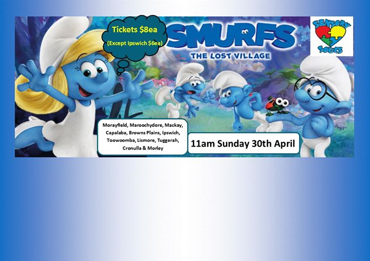 smurfs the lost village sensory movie day at bcc