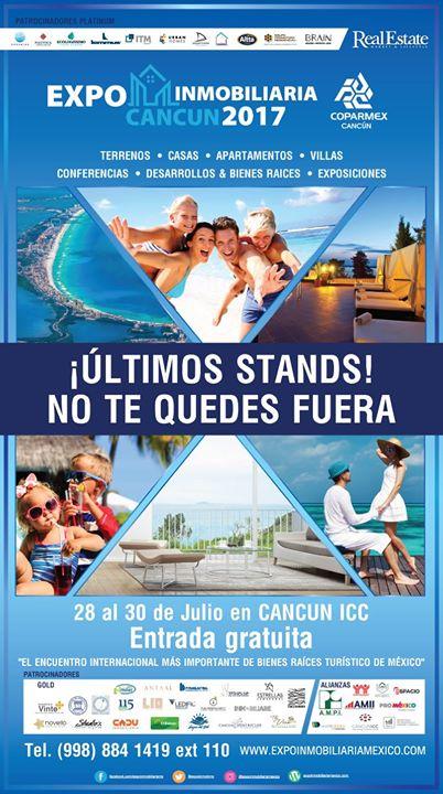 Expo Inmobiliaria Cancn 2017. Entrada gratuita