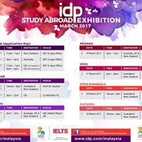 IDP Study Aboard Education Exhibition March 2017