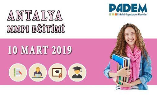 MMPI Uygulama ve Yorumlama Eitimi- Antalya