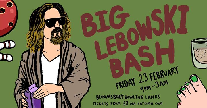 The Annual Big Lebowski Bash w Creedence Clearwater Review