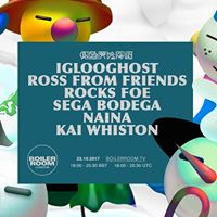 BR LDN Iglooghost Ross From Friends Rocks FOE Sega Bodega