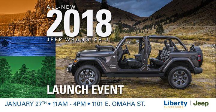 2018 Jeep Wrangler Launch Event