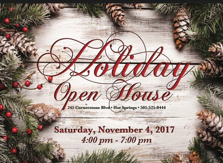 2017 holiday open house at flowers and home of hot springs hot springs 2017 holiday open house mightylinksfo Images
