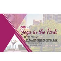 Yoga in the Park with One Girl