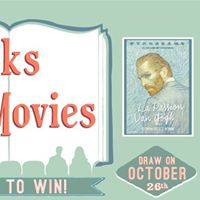 Books at the Movies Giveaway Loving Vincent
