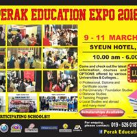 Perak Education Expo 2018