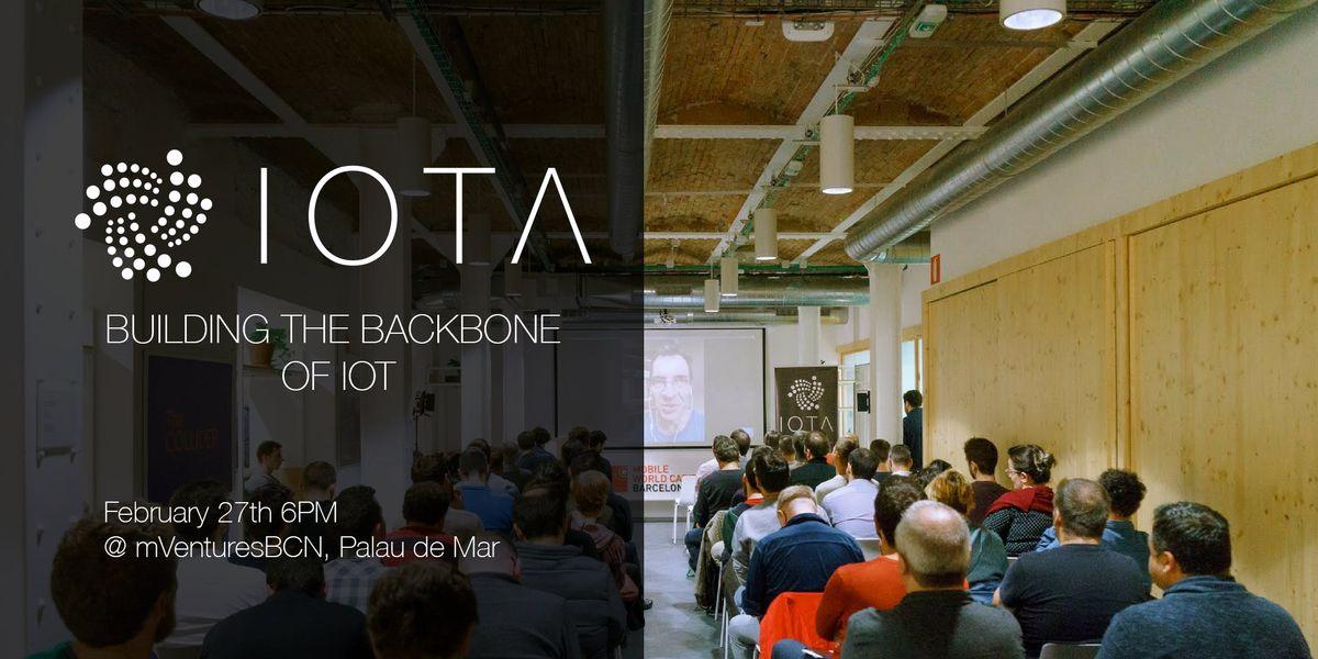 IOTA - Building the backbone of IoT