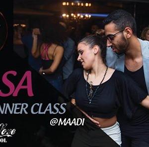 Salsa Beginner Class - Maadi