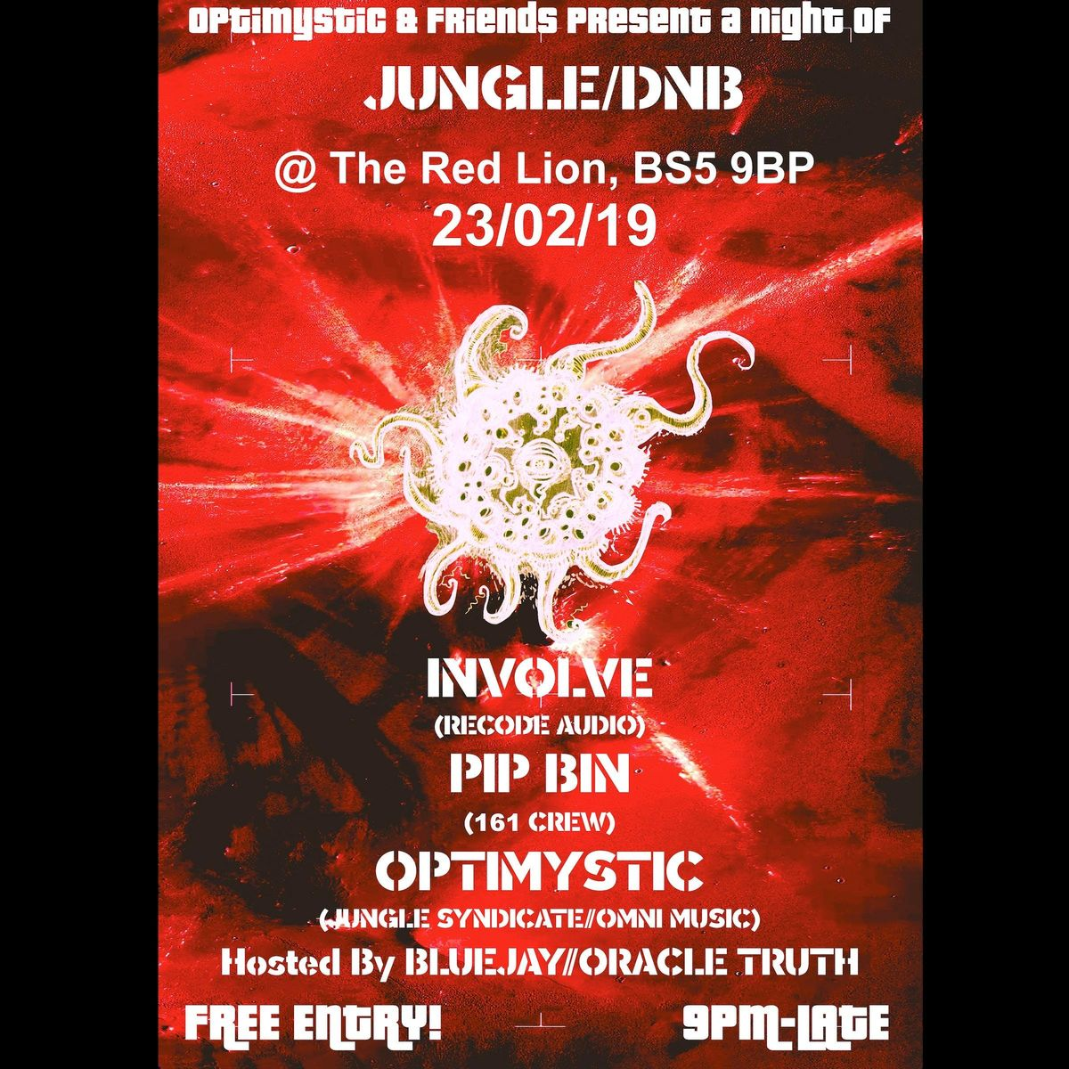 Optimystic & Friends Free JungleDnb Session 17