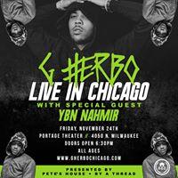 G Herbo Ybn Nahmir &amp more Live At Portage Theater