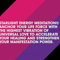Live In-Person Starlight Energy Meditation