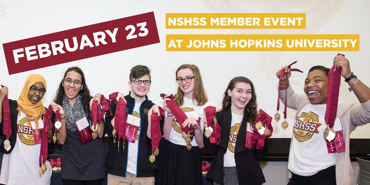 NSHSS Member Event at Johns Hopkins University