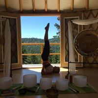 August Yoga Challenge at the Yurt.