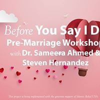 Before You Say &quotI Do&quot
