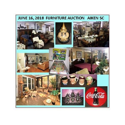 Merveilleux Big Furniture Auction June 16 In Aiken SC At Cheeks Auction Company,  Carolina