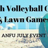 ANFU July Event - Beach Volleyball