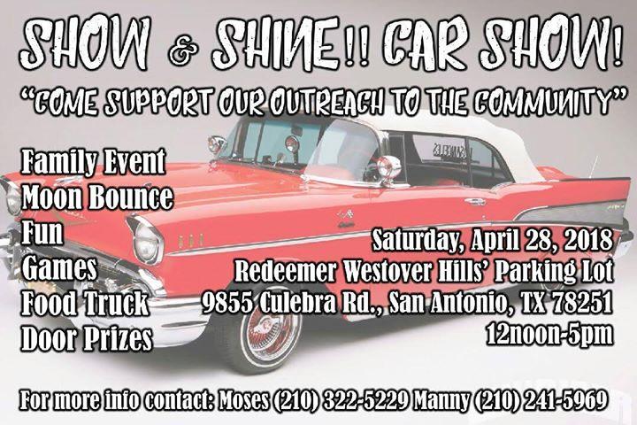 CAR SHOW At Culebra Rd San Antonio TX San Antonio - Car show in san antonio tx