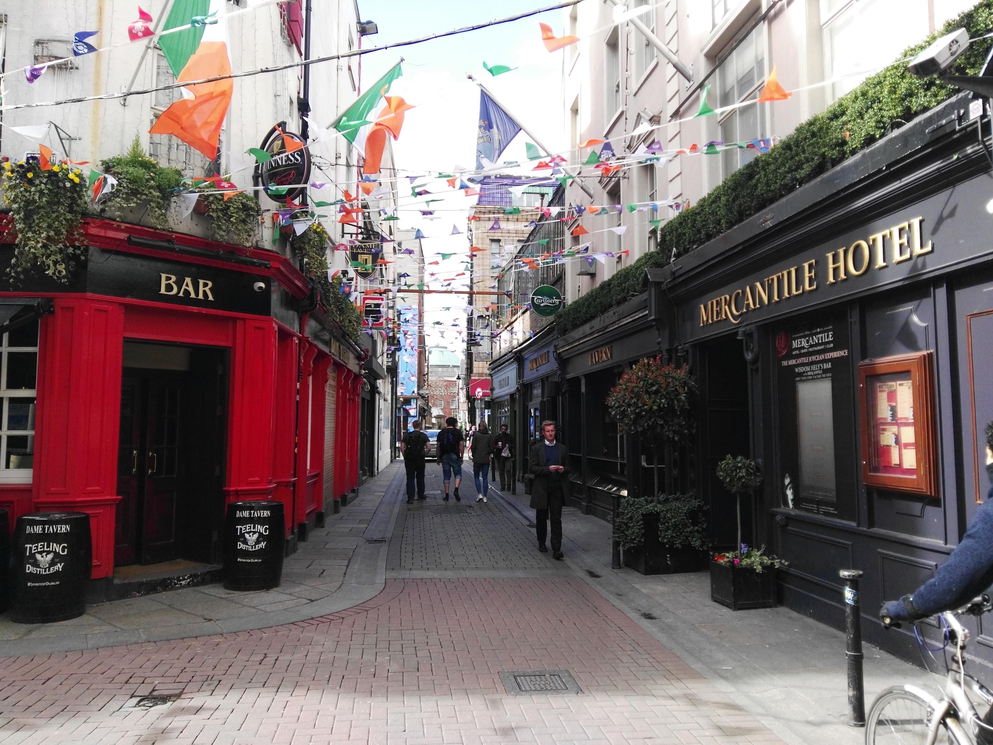 Tour de Dublin guid en Francais