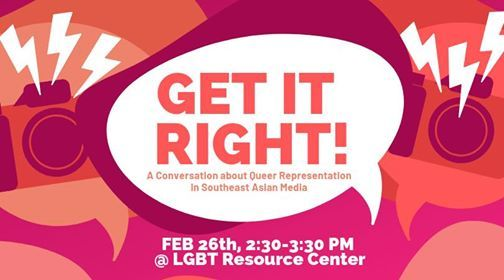 Get It Right Queer Rep in SE Asian Media
