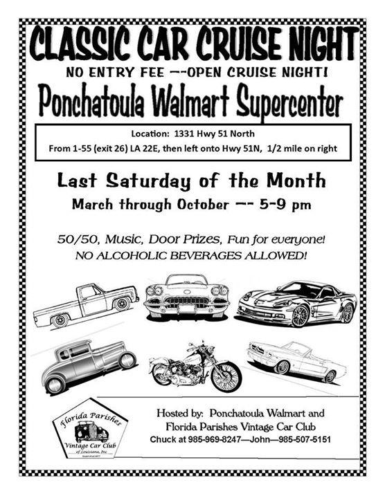 Ponchatoula Walmart Open Cruise Night Repost At Walmart
