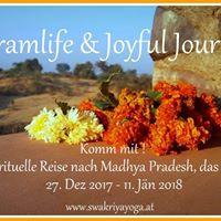 Spirituelle Indienreise - &quotAshramlife &amp Joyful Journeys&quot