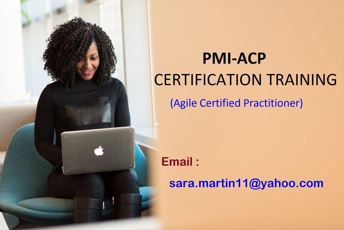 PMI-ACP Classroom Certification Training Course in Anaheim CA
