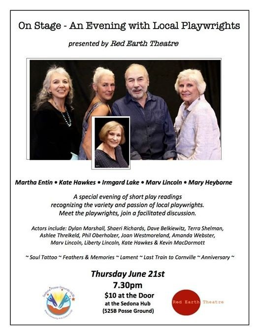 On Stage - An Evening with Local Playwrights
