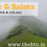Salher &amp Salota fort trek - Second Highest Peak in Maharastra