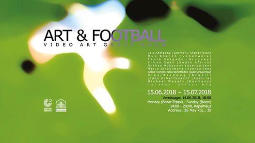 Art & Football video art group show